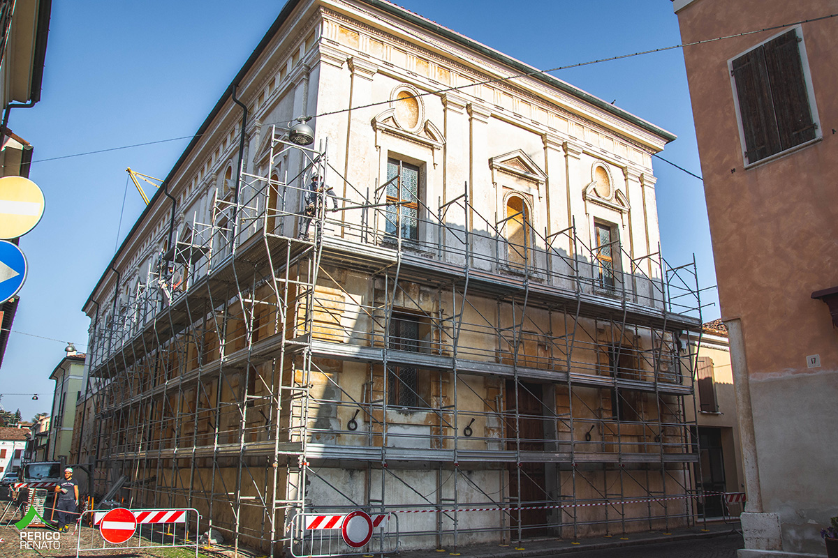 Perico-Renato-Sabbioneta (MN) - Teatro All'Antica - Adeguamento sismico 22