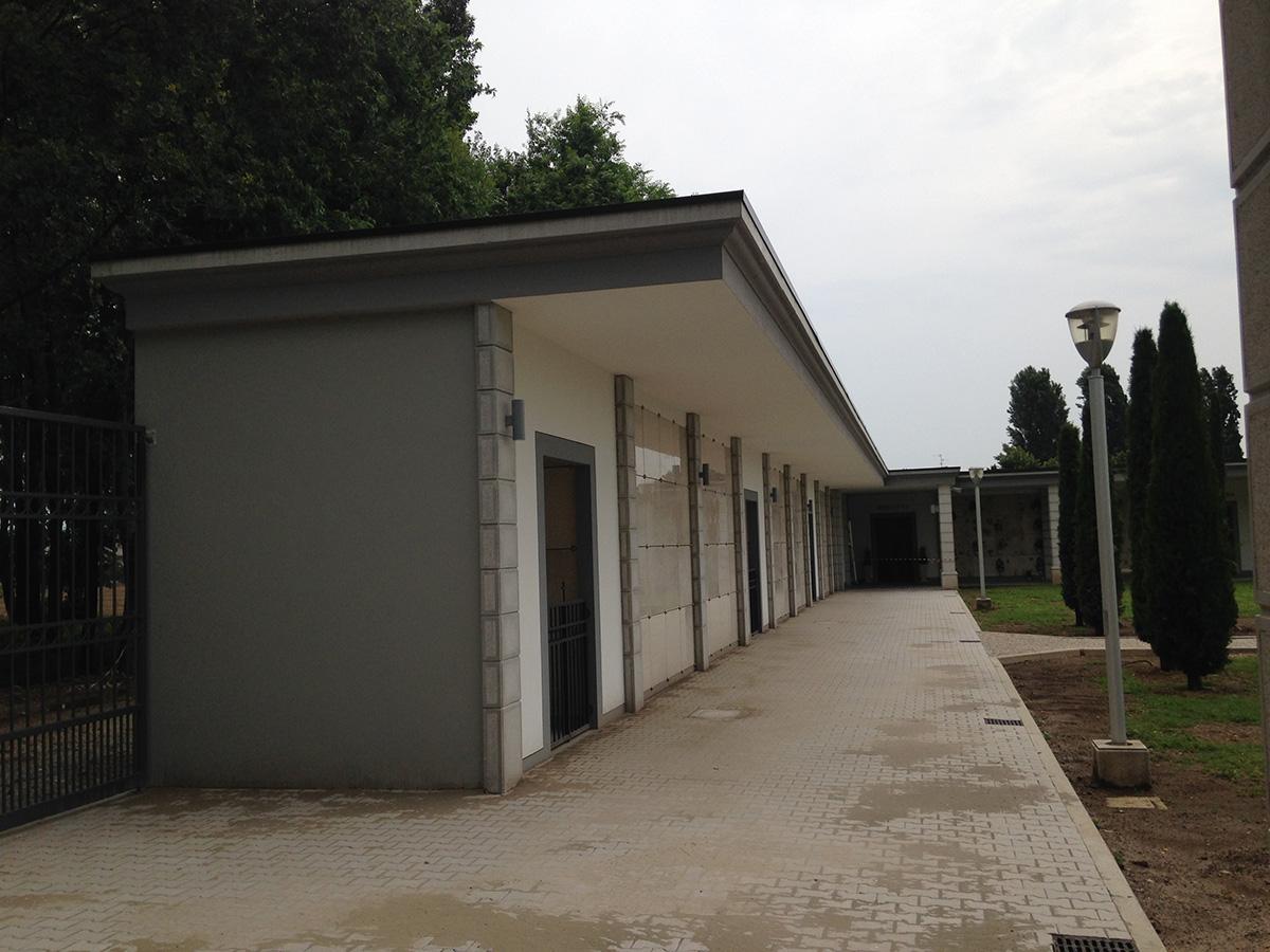 Perico-Renato-Trenzano (BS) - Cimitero comunale - Nuovi loculi 6