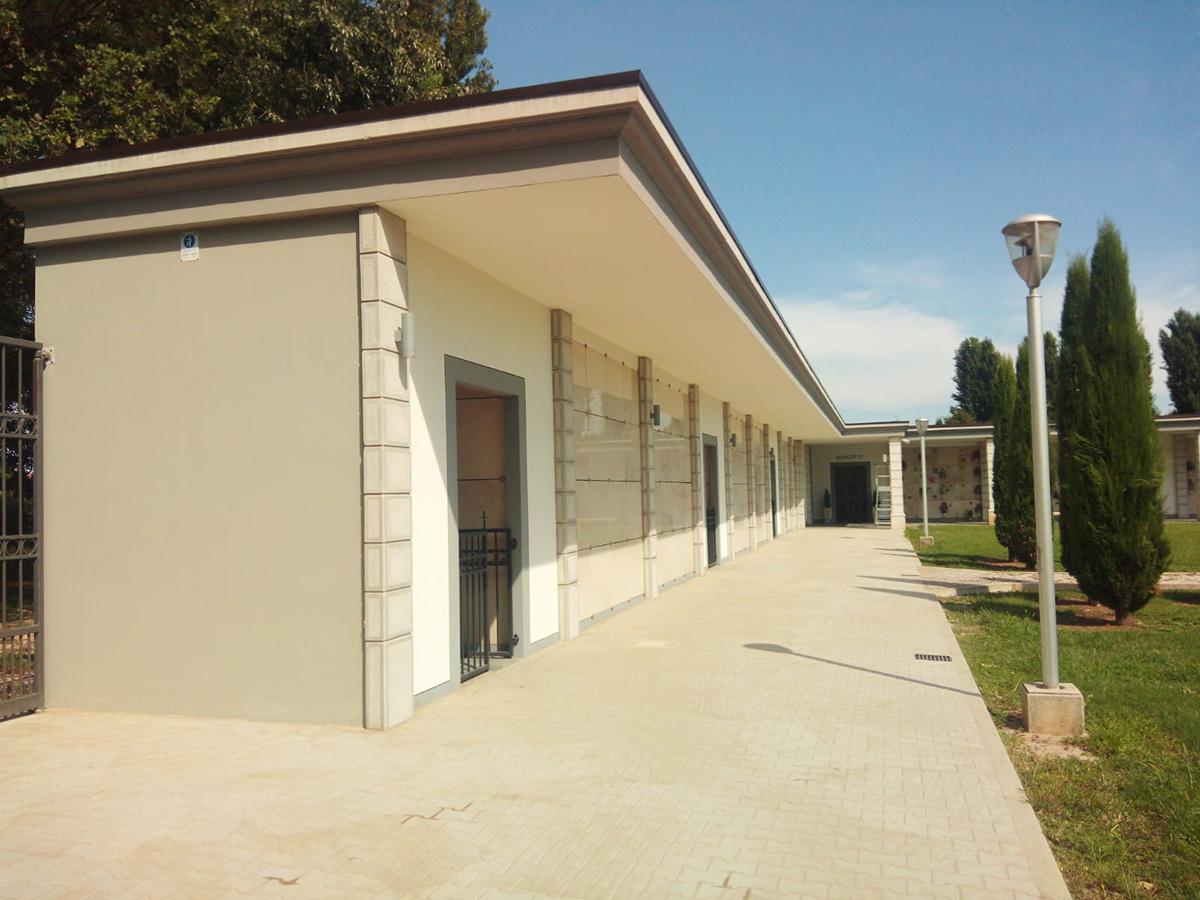 Perico-Renato-Trenzano (BS) - Cimitero comunale - Nuovi loculi 8