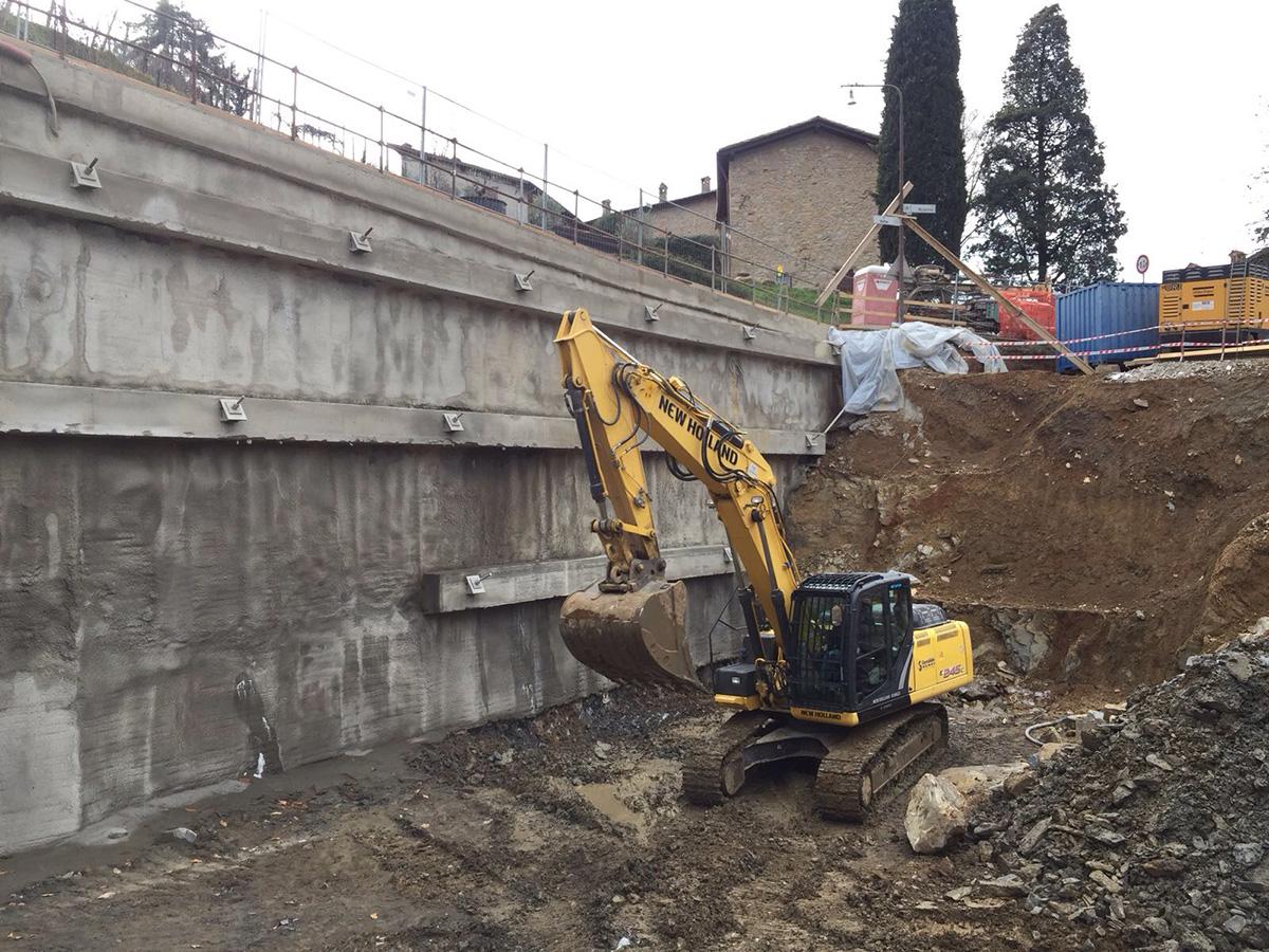 Bergamo, Città Alta – Via Vetta – Autorimessa privata interrata 11