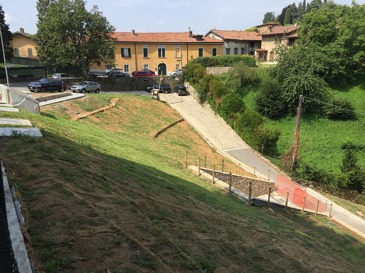Bergamo, Città Alta – Via Vetta – Autorimessa privata interrata 17