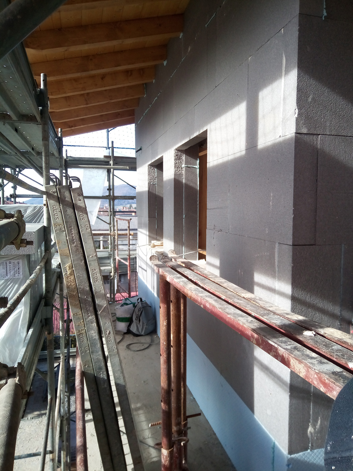 Trescore Balneario (BG) – Edilizia privata – Rifacimento copertura 2