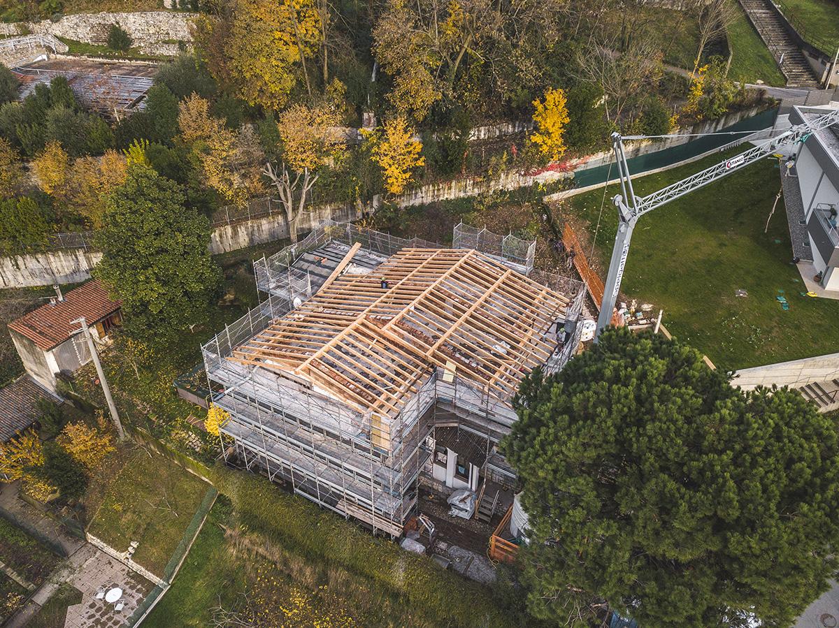 Trescore Balneario (BG) – Edilizia privata – Rifacimento copertura 11