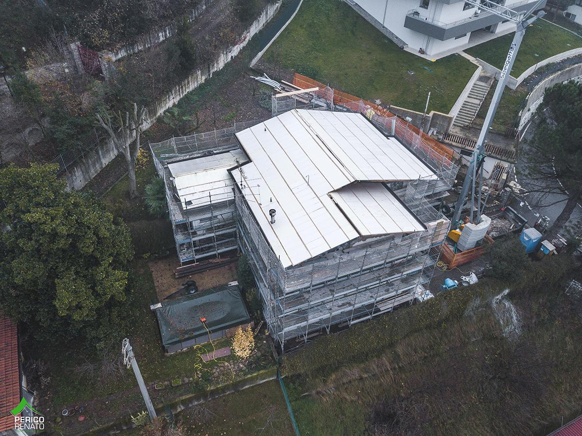 Trescore Balneario (BG) – Edilizia privata – Rifacimento copertura 4