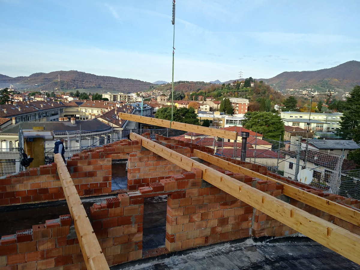 Trescore Balneario (BG) – Edilizia privata – Rifacimento copertura 13