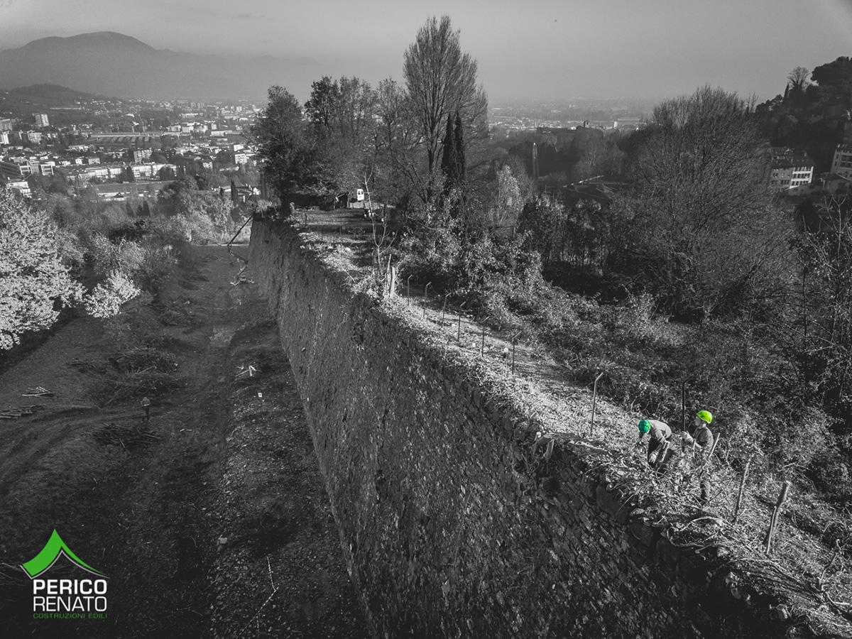 Perico-Renato-Bergamo, Città Alta - Mura venete - Restauro 14