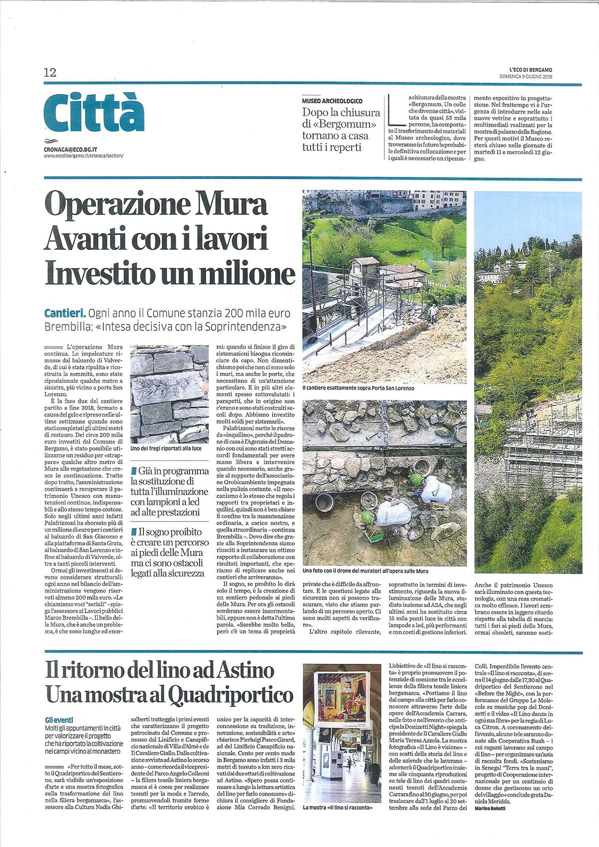 Perico-Renato-Bergamo, Città Alta - Mura venete - Restauro 4