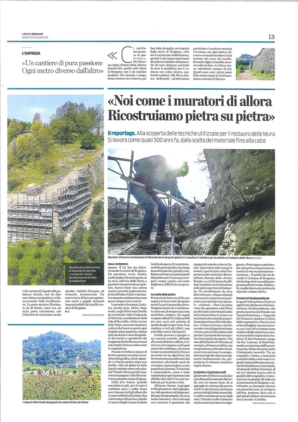 Perico-Renato-Bergamo, Città Alta - Mura venete - Restauro 5