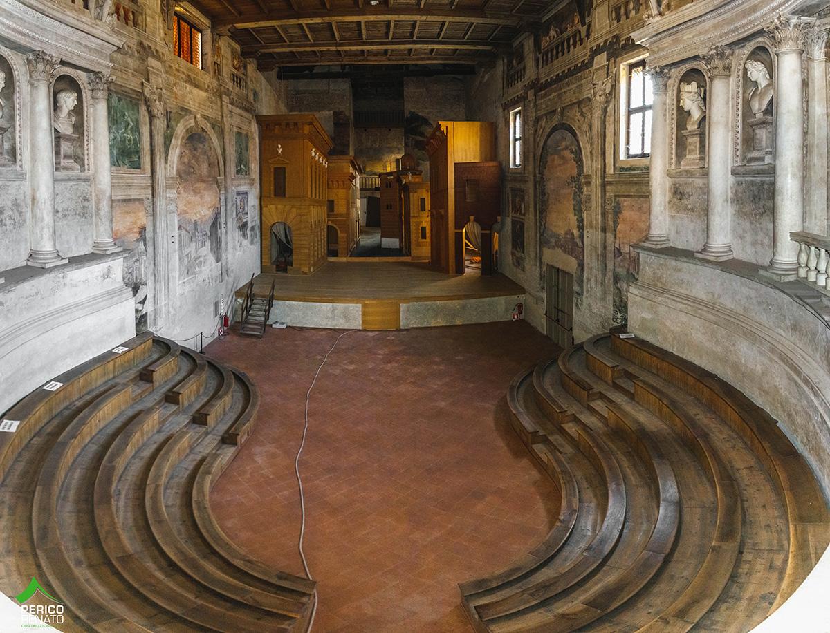 Sabbioneta (MN) – Teatro all'Antica – Risanamento conservativo