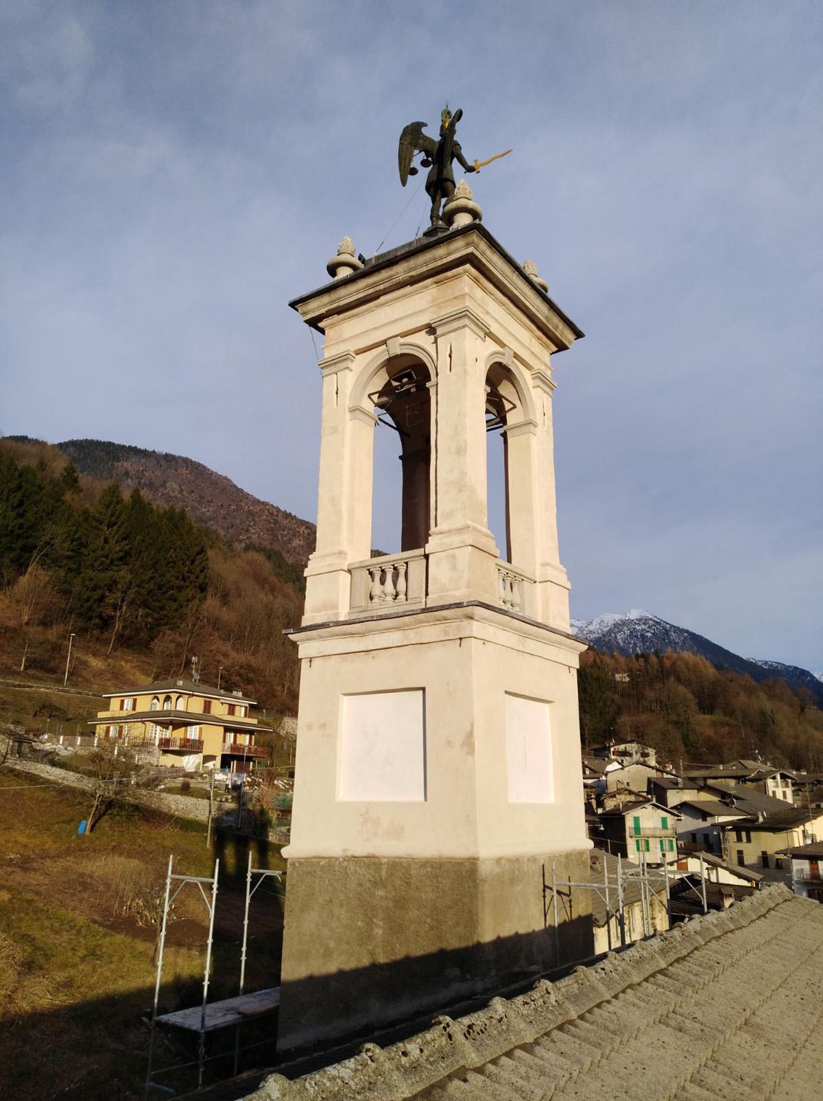 Perico-Renato-Valnegra (BG) - Campanile - Consolidamento e restauro 1