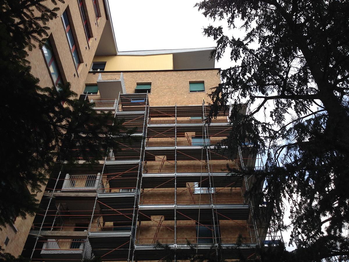 Perico-Renato-Bergamo - Condominio Edildalmine - Risanamento facciate 5