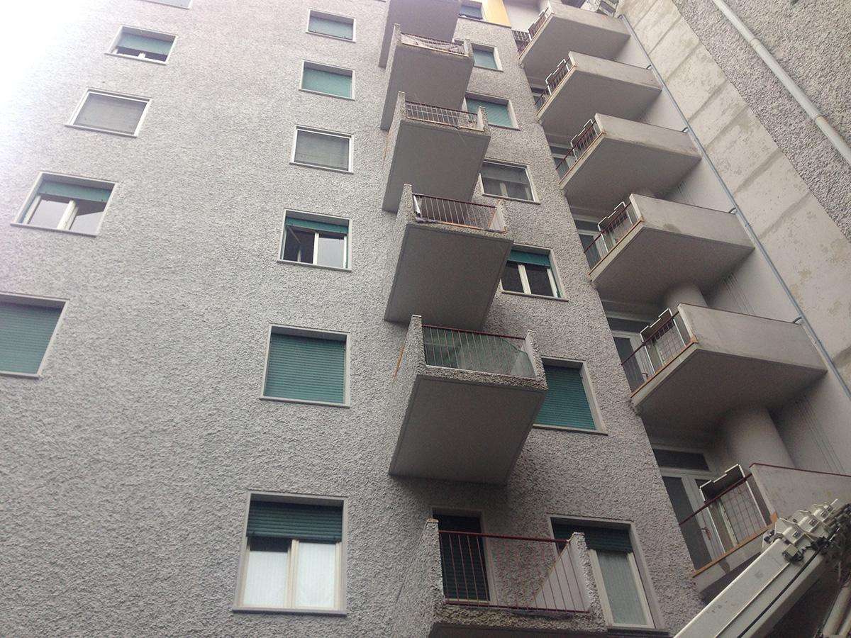 Perico-Renato-Bergamo - Condominio Edildalmine - Risanamento facciate 9