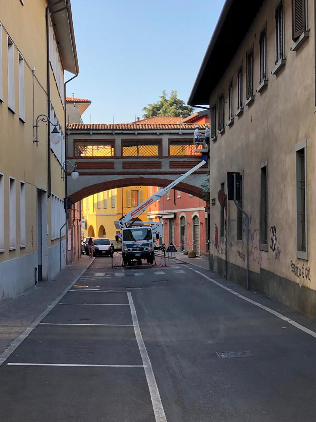 Perico-Renato-Alzano Lombardo (BG) - Sovrappasso pedonale - Manutenzione 2