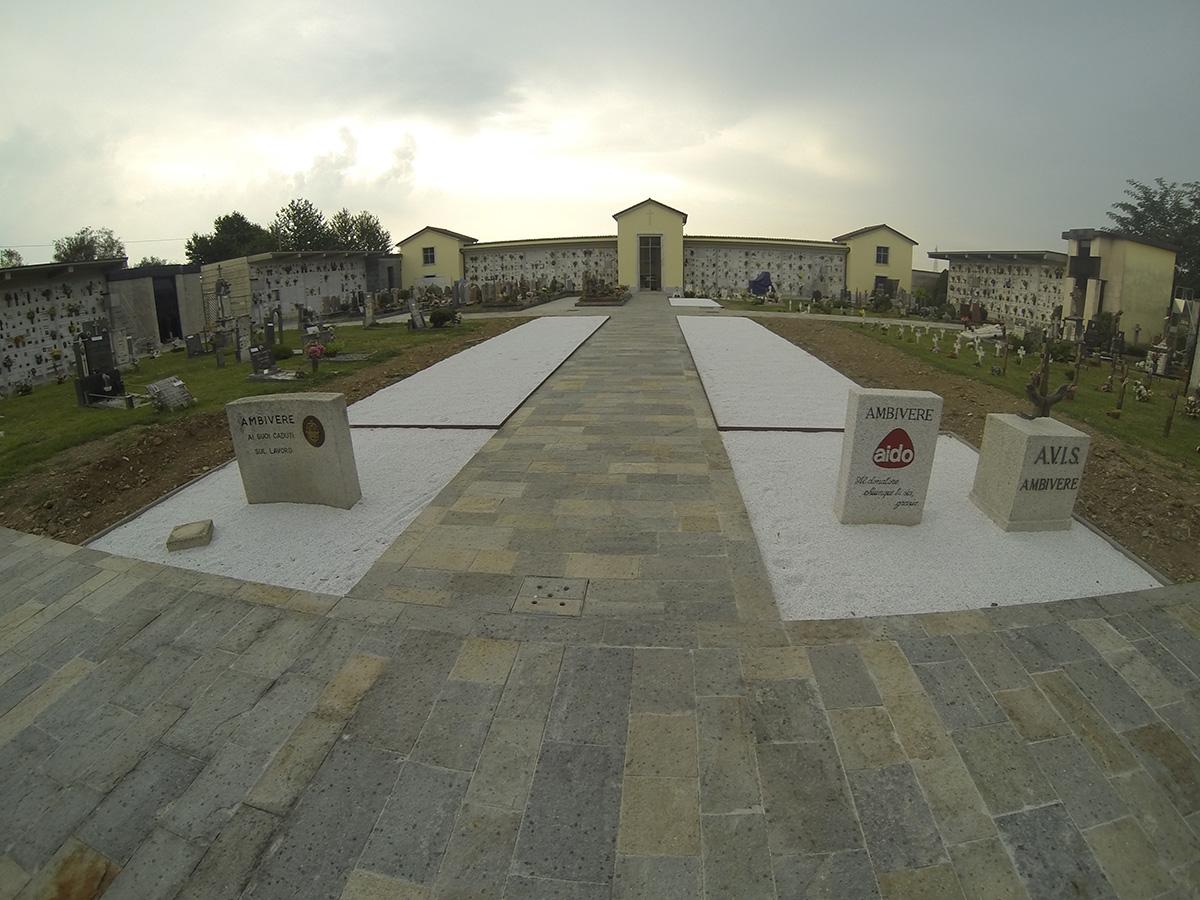 Ambivere (BG) – Cimitero comunale – Ristrutturazione