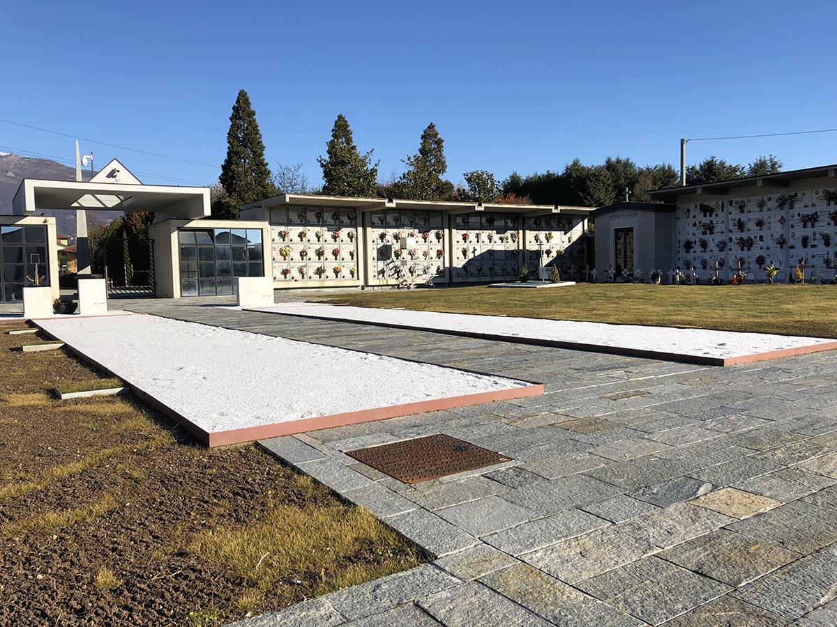 Perico-Renato-Ambivere (BG) - Cimitero comunale - Ristrutturazione 2
