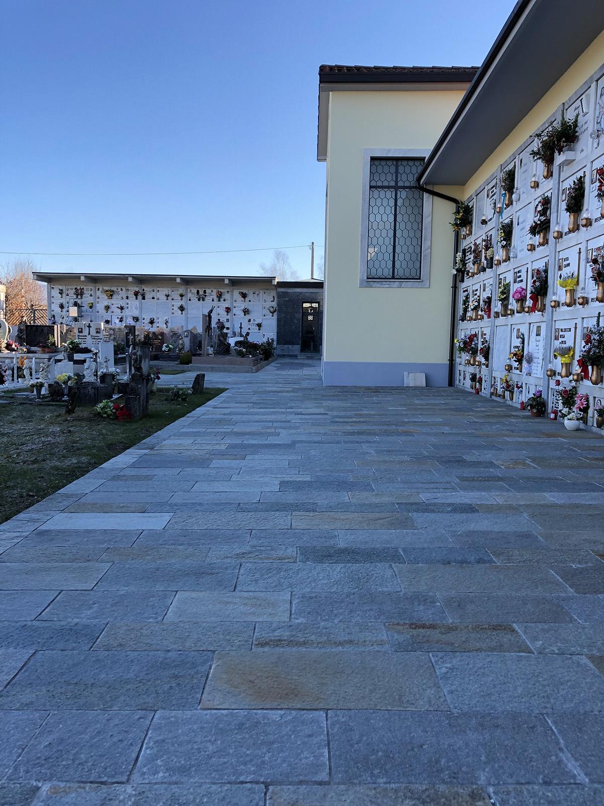 Perico-Renato-Ambivere (BG) - Cimitero comunale - Ristrutturazione 3