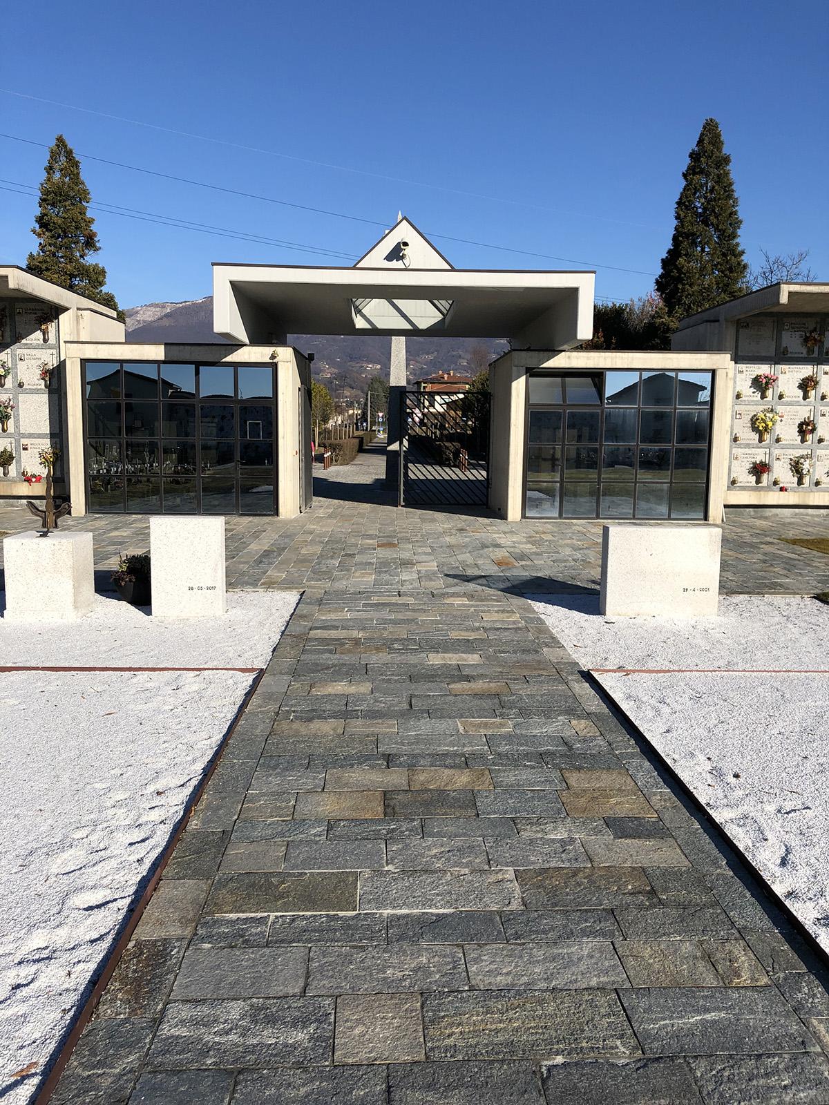 Perico-Renato-Ambivere (BG) - Cimitero comunale - Ristrutturazione 4