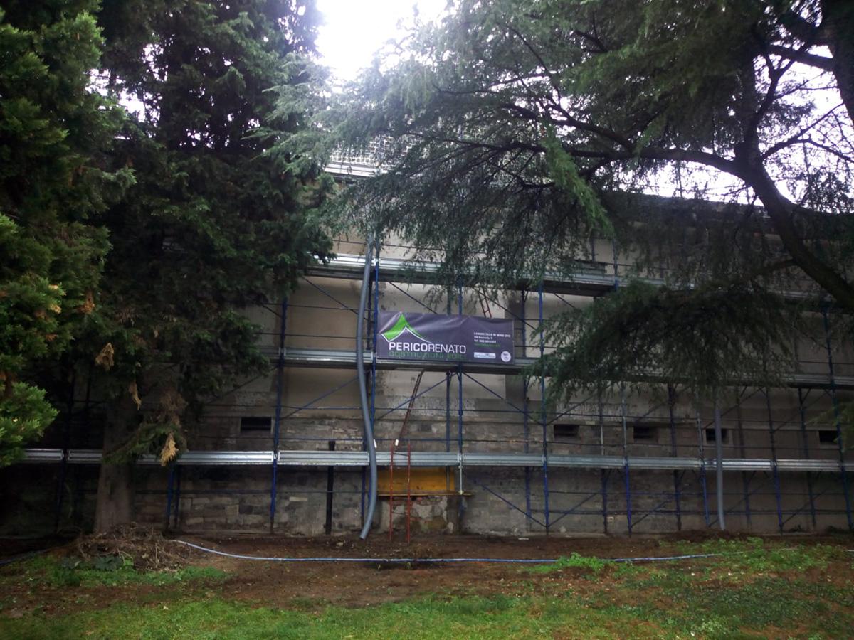 Perico-Renato-Bergamo - Cimitero monumentale - Manutenzione 1
