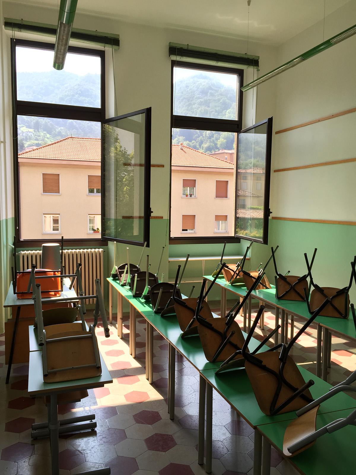 Perico-Renato-Pradalunga (BG) - Scuola comunale - Manutenzione straordinaria 9