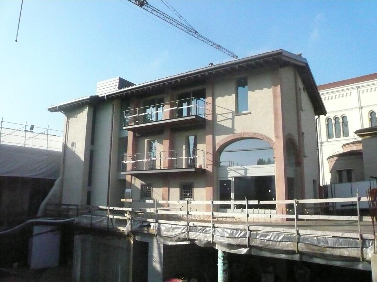 Perico-Renato-Torre de Roveri (BG) - Borgo Villa Astori - Restauro 2